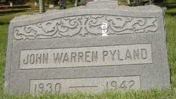PYLAND, JOHN WARREN - Coconino County, Arizona | JOHN WARREN PYLAND - Arizona Gravestone Photos