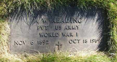 READING, A.W. - Coconino County, Arizona | A.W. READING - Arizona Gravestone Photos