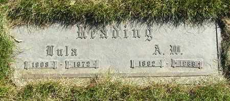 READING, LULA - Coconino County, Arizona | LULA READING - Arizona Gravestone Photos