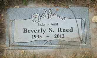 REED, BEVERLY S. - Coconino County, Arizona | BEVERLY S. REED - Arizona Gravestone Photos