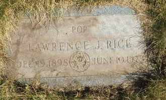 RICE, LAWRENCE J. - Coconino County, Arizona   LAWRENCE J. RICE - Arizona Gravestone Photos
