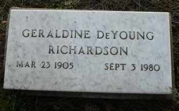 RICHARDSON, GERALDINE - Coconino County, Arizona | GERALDINE RICHARDSON - Arizona Gravestone Photos