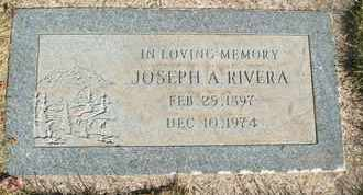 RIVERA, JOSEPH A. - Coconino County, Arizona   JOSEPH A. RIVERA - Arizona Gravestone Photos