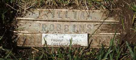 ROBBINS, WILLIAM - Coconino County, Arizona | WILLIAM ROBBINS - Arizona Gravestone Photos