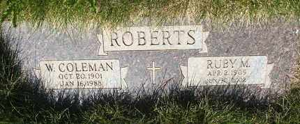 ROBERTS, WILLIAM COLEMAN - Coconino County, Arizona | WILLIAM COLEMAN ROBERTS - Arizona Gravestone Photos