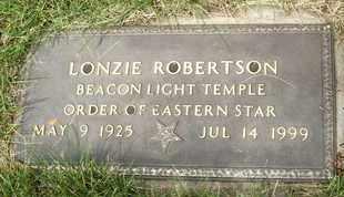 ROBERTSON, LONZIE - Coconino County, Arizona | LONZIE ROBERTSON - Arizona Gravestone Photos