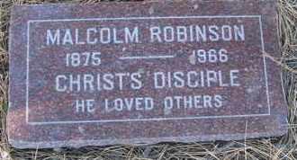 ROBINSON, MALCOLM - Coconino County, Arizona   MALCOLM ROBINSON - Arizona Gravestone Photos