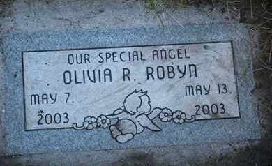 ROBYN, OLIVIA R. - Coconino County, Arizona | OLIVIA R. ROBYN - Arizona Gravestone Photos