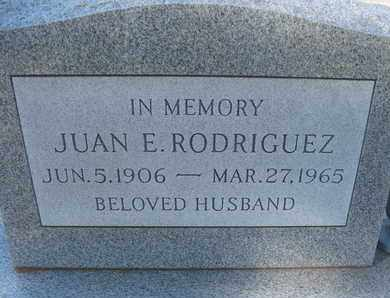RODRIGUEZ, JUAN E. - Coconino County, Arizona | JUAN E. RODRIGUEZ - Arizona Gravestone Photos