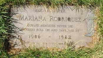RODRIQUEZ, MARIANA - Coconino County, Arizona | MARIANA RODRIQUEZ - Arizona Gravestone Photos