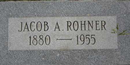 ROHNER, JACOB A. - Coconino County, Arizona   JACOB A. ROHNER - Arizona Gravestone Photos