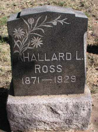 L. ROSS, HALLARD - Coconino County, Arizona | HALLARD L. ROSS - Arizona Gravestone Photos