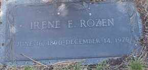 ROZEN, IRENE E. - Coconino County, Arizona | IRENE E. ROZEN - Arizona Gravestone Photos