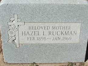 RUCKMAN, HAZEL L. - Coconino County, Arizona | HAZEL L. RUCKMAN - Arizona Gravestone Photos