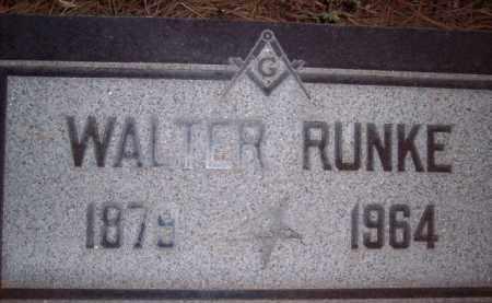 RUNKE, WALTER JR - Coconino County, Arizona   WALTER JR RUNKE - Arizona Gravestone Photos