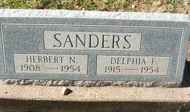 SANDERS, DELPHIA F. - Coconino County, Arizona | DELPHIA F. SANDERS - Arizona Gravestone Photos