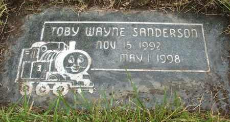 SANDERSON, TOBY WAYNE - Coconino County, Arizona | TOBY WAYNE SANDERSON - Arizona Gravestone Photos