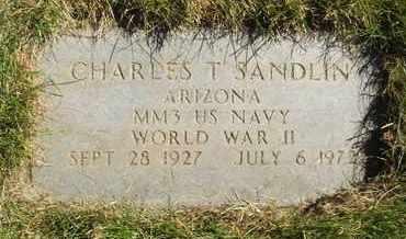 SANDLIN, CHARLES T. - Coconino County, Arizona   CHARLES T. SANDLIN - Arizona Gravestone Photos