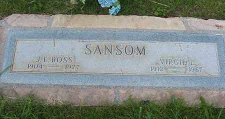SANSOM, VIRGIE L. - Coconino County, Arizona | VIRGIE L. SANSOM - Arizona Gravestone Photos