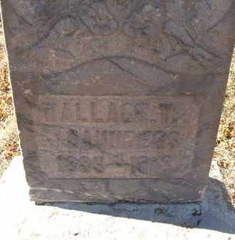 SAUNDERS, WALLACE T. - Coconino County, Arizona | WALLACE T. SAUNDERS - Arizona Gravestone Photos