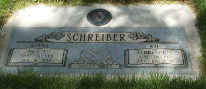 SCHREIBER, FLORENCE I. - Coconino County, Arizona | FLORENCE I. SCHREIBER - Arizona Gravestone Photos