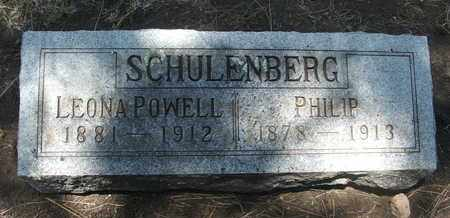 POWELL SCHULENBERG, LEONA - Coconino County, Arizona | LEONA POWELL SCHULENBERG - Arizona Gravestone Photos