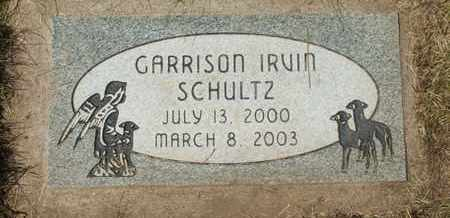 SCHULTZ, GARRISON IRVIN - Coconino County, Arizona   GARRISON IRVIN SCHULTZ - Arizona Gravestone Photos