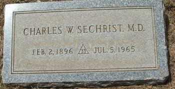 SECHRIST, CHARLES W. M.D. - Coconino County, Arizona | CHARLES W. M.D. SECHRIST - Arizona Gravestone Photos