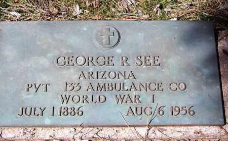 SEE, GEORGE ROY - Coconino County, Arizona | GEORGE ROY SEE - Arizona Gravestone Photos