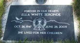SERONDE, ELLA - Coconino County, Arizona | ELLA SERONDE - Arizona Gravestone Photos
