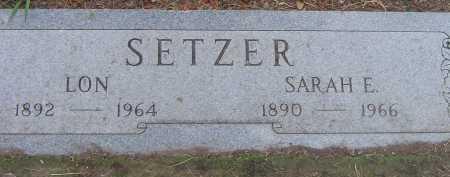SETZER, SARAH E. - Coconino County, Arizona | SARAH E. SETZER - Arizona Gravestone Photos