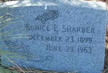 SHARBER, EUNICE E. - Coconino County, Arizona | EUNICE E. SHARBER - Arizona Gravestone Photos