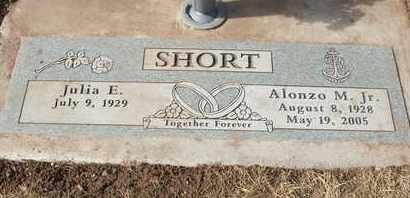 SHORT, ALONZO M. JR. - Coconino County, Arizona | ALONZO M. JR. SHORT - Arizona Gravestone Photos