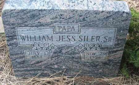 SILER, SR., WILLIAM JESS - Coconino County, Arizona | WILLIAM JESS SILER, SR. - Arizona Gravestone Photos