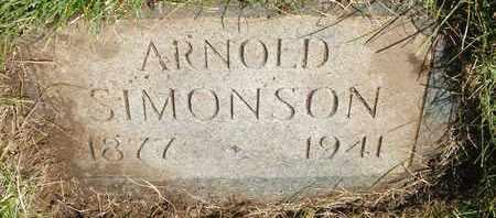SIMONSON, ARNOLD - Coconino County, Arizona | ARNOLD SIMONSON - Arizona Gravestone Photos