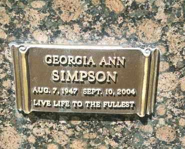 SIMPSON, GEORGIA ANN - Coconino County, Arizona | GEORGIA ANN SIMPSON - Arizona Gravestone Photos