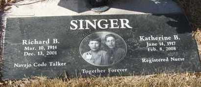 SINGER, RICHARD B. - Coconino County, Arizona | RICHARD B. SINGER - Arizona Gravestone Photos