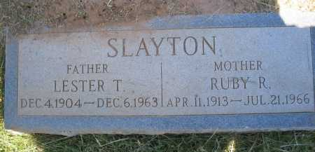 SLAYTON, RUBY R. - Coconino County, Arizona | RUBY R. SLAYTON - Arizona Gravestone Photos