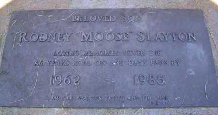 "SLAYTON, RODNEY ""MOOSE"" - Coconino County, Arizona | RODNEY ""MOOSE"" SLAYTON - Arizona Gravestone Photos"