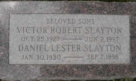 SLAYTON, VICTOR ROBERT - Coconino County, Arizona | VICTOR ROBERT SLAYTON - Arizona Gravestone Photos