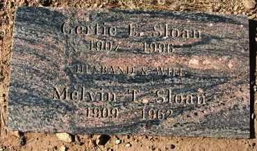 SLOAN, MELVIN T. - Coconino County, Arizona   MELVIN T. SLOAN - Arizona Gravestone Photos