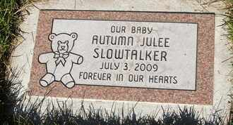 SLOWTALKER, AUTUMN JULEE - Coconino County, Arizona | AUTUMN JULEE SLOWTALKER - Arizona Gravestone Photos