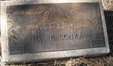 SONKA, IDA E. - Coconino County, Arizona | IDA E. SONKA - Arizona Gravestone Photos