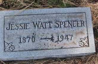 SPENCER, JESSIE WATT - Coconino County, Arizona | JESSIE WATT SPENCER - Arizona Gravestone Photos