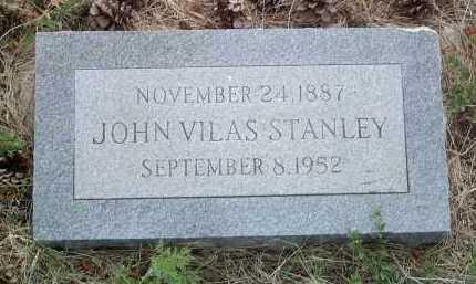 STANLEY, JOHN VILAS - Coconino County, Arizona | JOHN VILAS STANLEY - Arizona Gravestone Photos