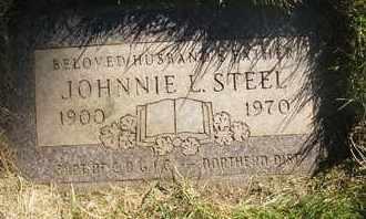 STEEL, JOHNNIE L. - Coconino County, Arizona | JOHNNIE L. STEEL - Arizona Gravestone Photos