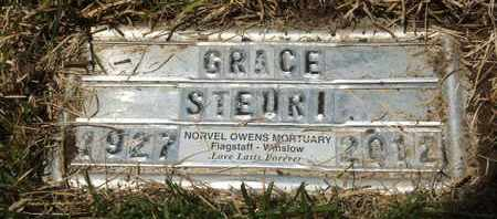 STEURI, GRACE - Coconino County, Arizona | GRACE STEURI - Arizona Gravestone Photos