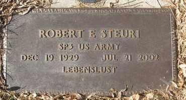 STEURI, ROBERT E. - Coconino County, Arizona | ROBERT E. STEURI - Arizona Gravestone Photos
