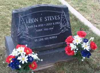 STEVES, LEON F. - Coconino County, Arizona | LEON F. STEVES - Arizona Gravestone Photos