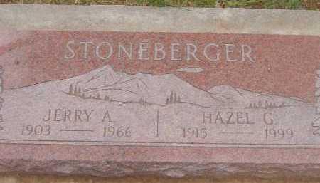 STONEBERGER, HAZEL G. - Coconino County, Arizona | HAZEL G. STONEBERGER - Arizona Gravestone Photos